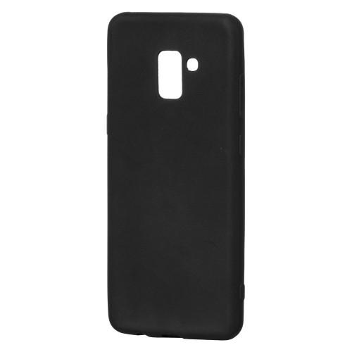 Θήκη Σιλικόνης TPU Samsung Galaxy A8 Plus (2018) - Matte Black